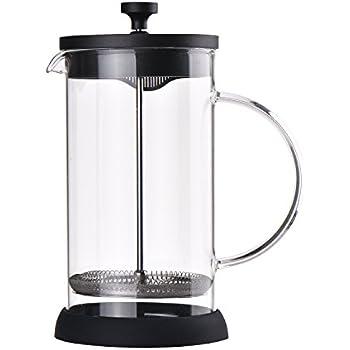 Amazon.com: 1000 ml Le Xpress – Ocho Copa Vidrio cafetera ...