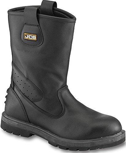 S3 - Sra - JCB - negro Trackpro botas de seguridad ...