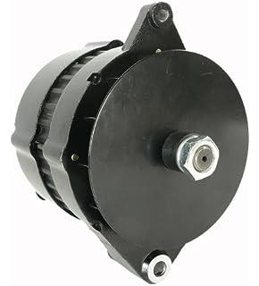 alternator fits john deere backhoe loaders 210c 310c 315c 410b 510c 610b,  crawlers 400g 550g
