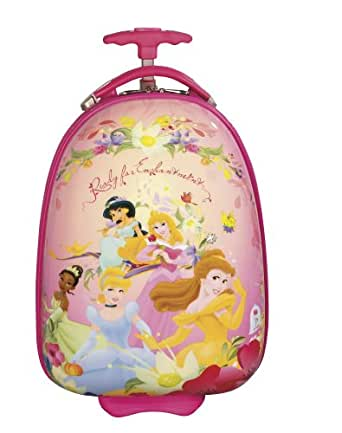 Disney By Heys Luggage Disney 18 Inch Hard Side Carry On Princess Ready For Enchantment Bag, Princess, One Size