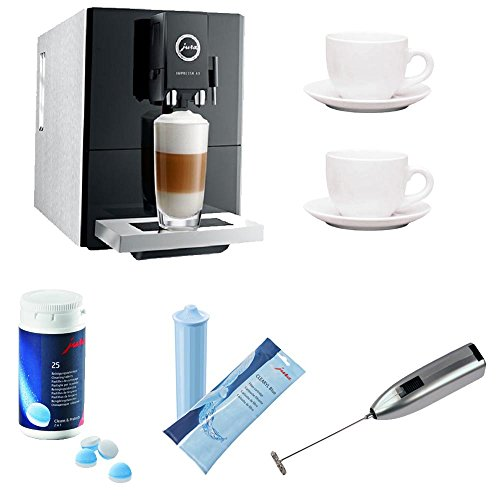 Jura Impressa A9 One-Touch Espresso Machine w/ Knox Frother & Accessory Bundle