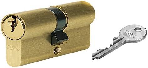 Abus 30937 E5mm puerta 10//30 lat/ón SEMICILINDRO 10 x 30 mm