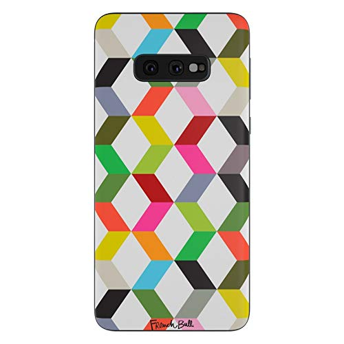 Ziggies Cube - Ziggy Cube Protective Decal Sticker for Samsung Galaxy s10e - Scratch Proof Vinyl Skin Wrap Thin Edge Line Cover and Made in USA