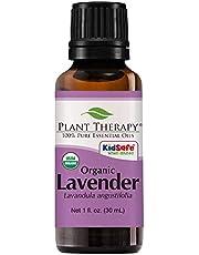 Plant Therapy Lavender Organic Essential Oil 30 mL (1 oz) 100% Pure, Undiluted, Therapeutic Grade