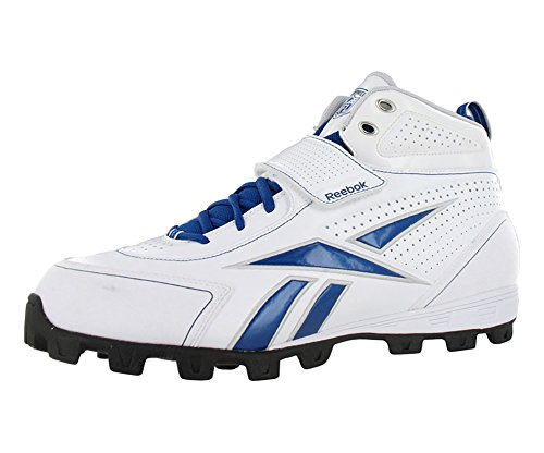Reebok Pro Thorpe III ATF Mens Football Shoes White/Dark Royal