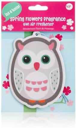 Spring Flowers Owl Air Freshener