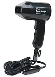 RoadPro RPSC-818 12V Hair Dryer/ Defroster with Folding Handle