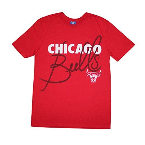 NBA Mens CHICAGO BULLS: Athletic Short Sleeve T Shirt L Red by NBA
