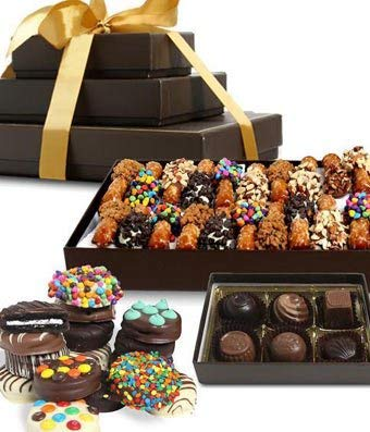 hocolate Dipped Favorites Gift Tower (39 Pieces) ()