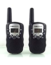 Walkie Talkies for Kids, Best Gifts Toys with Flashlight for Boys & Girls to Outside Adventure, Outdoor Game, Hiking, Camping(2 Pack)