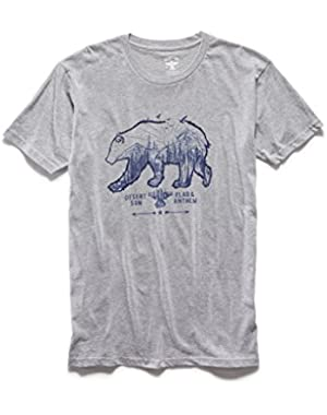 x Desert Son by Dierks Bentley Men's Grizzly SS Tee