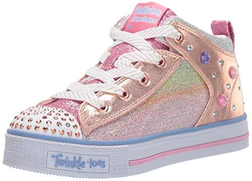 skechers twinkle toes high tops - 5