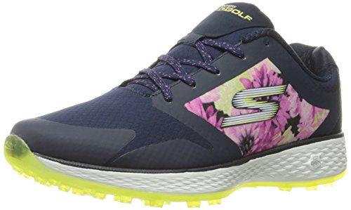 Skechers Performance Women's Go Golf Birdie Tropic Golf Shoe, Navy/Mint Tropic, 7.5 M US