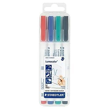 Staedtler Fino rotuladores para pizarra blanca (4 unidades ...