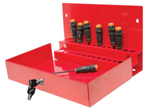 Homak 27-Inch Professional Series Locking Tool Organizer, Red, RD08002601 by Homak Mfg. Co., Inc.