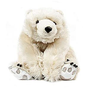 "26"" Life-Like Extra Soft and Cuddly Plush White Diamond Bear Stuffed Animal Hug - 41fATMzNfEL - 26″ Life-Like Extra Soft and Cuddly Plush White Diamond Bear Stuffed Animal Hug"