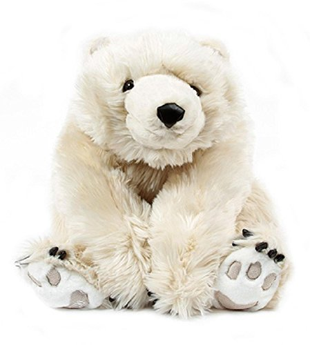 26-Life-Like-Extra-Soft-and-Cuddly-Plush-White-Diamond-Bear-Stuffed-Animal-Hug