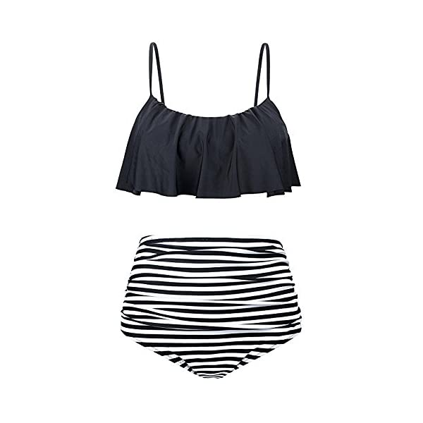 2pcs Tankini Costume da Bagno Donna Vita Alta Taglie Forti Tankini Mare Tankini Bikini/Costumi da Bagno Ragazza Mare… 4 spesavip