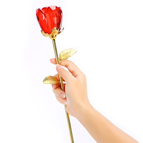 Artificial Anniversary Birthday Valentines Bud Red