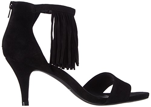 Femme Stiletto Schnoor Sofie Noir Fringes Sandales With AgXS7