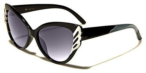 Hutt GRATUIT d'oeil Bras Designer poche soleil Bleu femme chat inclus Protection AU COMPLET Noir SPORT VG microfibre mode lunettes UV400 de VOLANT vibrant EqBaF6