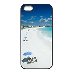 Customized case Of Island Beach Hard Case for iPhone 5,5S