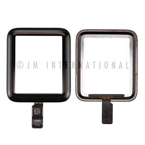 ePartSolution_Replacement Part for Apple Watch Series 2 Watch Series 3 38mm 42mmTouch Screen Digitizer Lens Glass (38mm) ()