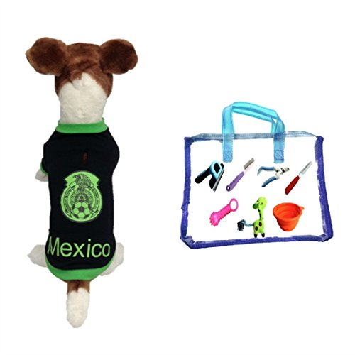 dog soccer jersey Mexico (Large)