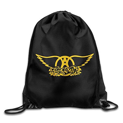 MaNeg Aerosmith Gym Drawstring Backpack&Travel Bag (Backpack Ferragamo)