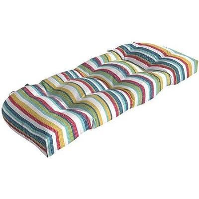 Comfort Classics Inc. Outdoor Patio Wicker Bench : Garden & Outdoor