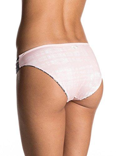 Roxy Women's Print Strappy Love Reversible 70s Bikini Bottom, Marshmallow Ready Made, S
