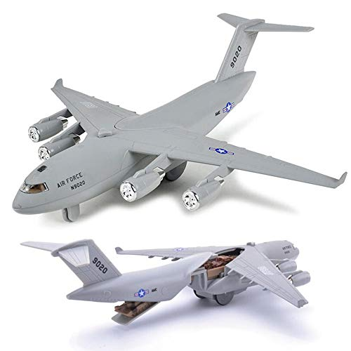(CORPER TOYS Diecast Plane Metal Pull-Back Aircraft Toys Air Plane Model Kit Gift Set for Kids Boy Birthday)