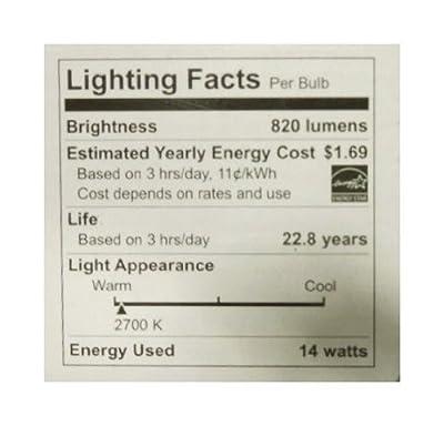 TCP LED14E26P3027KFL 2700K LED 14 Watt Dimmable PAR30 Flood