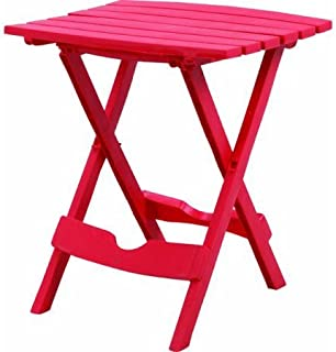 product image for Adams Manufacturing Quik-Fold Side Table Cherry Red, Pack of 1