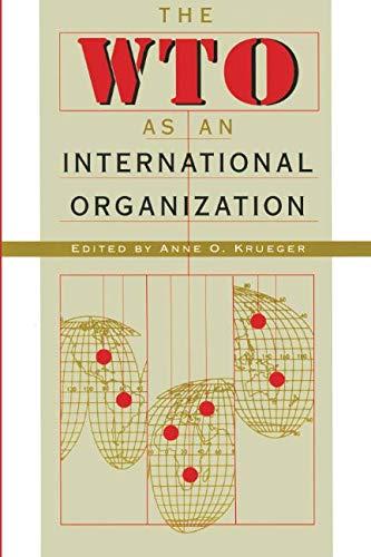 The WTO as an International Organization