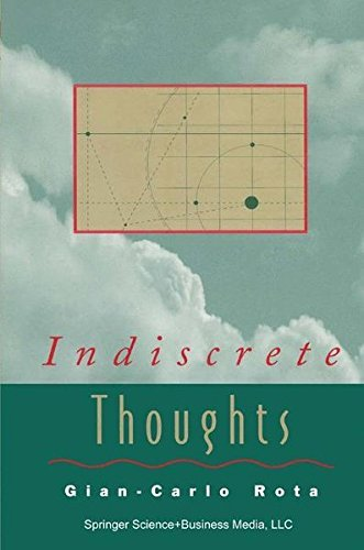 Indiscrete Thoughts (Modern Birkhäuser Classics)