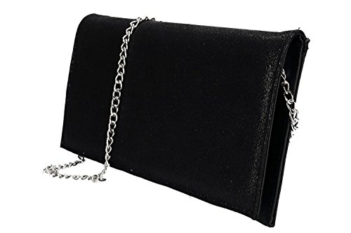 woman MADE VN2297 for ceremonies black IN Purse pochette ITALY vaUwnp