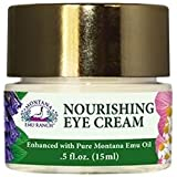 Montana Emu Ranch - Nourishing Eye Cream 0.5 Ounce - Enhanced with Pure Emu Oil