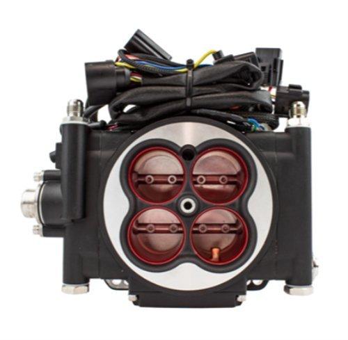 FiTech Fuel Injection Go EFI 4 - 600 HP System - Power Adder - Matte Black  -30004