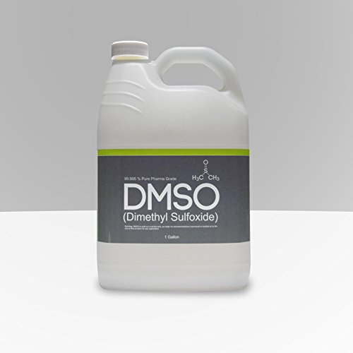 1 Gallon 99.995% Pharma Grade Dimethyl Sulfoxide, BPA FREE, Oderless, non diluted