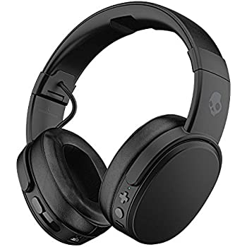 458042c7aaa Skullcandy Crusher Bluetooth Wireless Over-Ear Headphones with Microphone -  (Renewed) (Black)