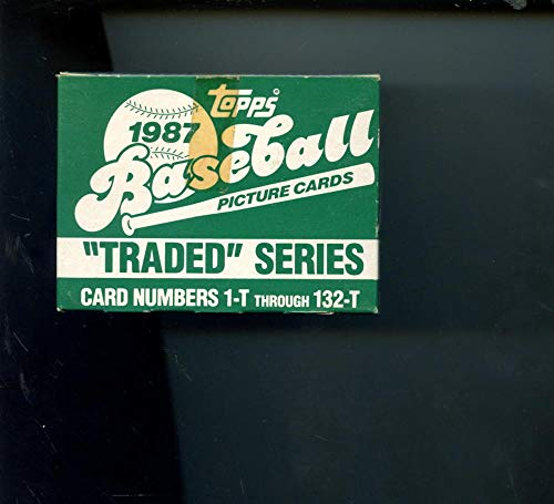 1987 Topps Traded Baseball Complete Box set Greg Maddux RC Card FACTORY SEALED ()