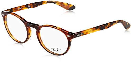 cde819e9df Ray-Ban Men s RX5283 Eyeglasses Top Havana Brown Yellow 49mm by Ray-Ban