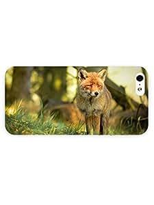 3d Full Wrap Case for iPhone 5/5s Animal Gazing Fox