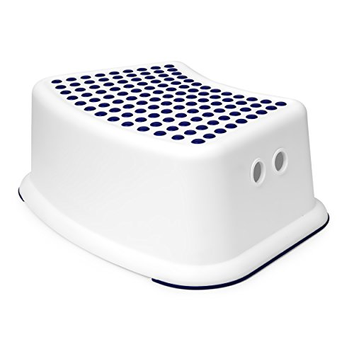 Boys Blue Step Stool - Great For Potty Training, Bathroom, Bedroom, Toy Room, Kitchen, and Living Room. Perfect For Your House