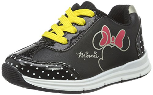 Minnie Mouse Mädchen Girls Kids Low Sneakers Top Schwarz (BK/BK/BK/BK 182)