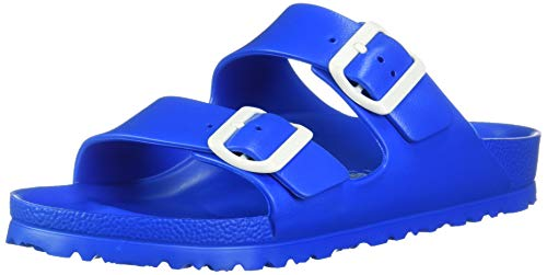 Birkenstock Unisex Arizona Essentials EVA Scuba Blue Sandals - 39 N EU / 8-8.5 2A(N)