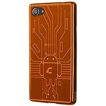 Sony Xperia Z5 Compact Case, Cruzerlite Bugdroid Circuit Case Compatible for Sony Xperia Z5 Compact - Orange