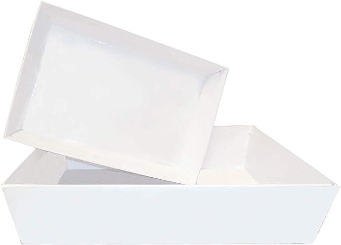 Sac de Violoncelle et /étiquette Cadeau Rose L /– 35 x 24 x 8 cm de Hauteur n/œud Rose Jaffa Imports Panier Cadeau /à Faire soi-m/ême avec Plateau en Carton Blanc