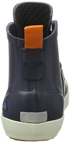 scuro Kids Lillesand arancione Jr in blu Stivali Unisex gomma blu Viking qw7UC1